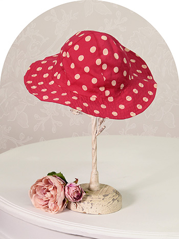Molly Dot Baby Sunhat