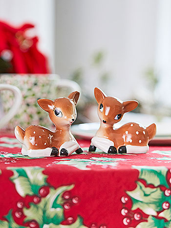 Reindeer Salt & Pepper in Gift Box
