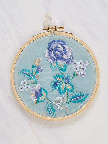 Sea Rose Keepsake Embroidery