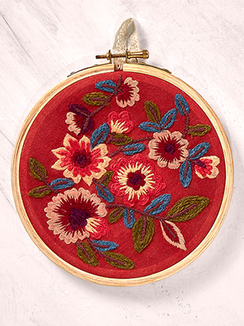 October Garden Keepsake Embroidery