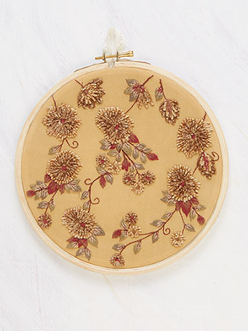 Golden Meadow Keepsake Embroidery