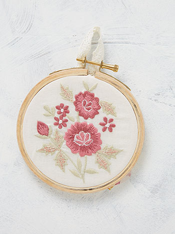 Sweet Garden Keepsake Embroidery