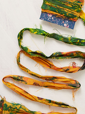 Silk Chiffon Ribbon