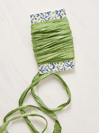 Hand-Dyed Silk Ribbon