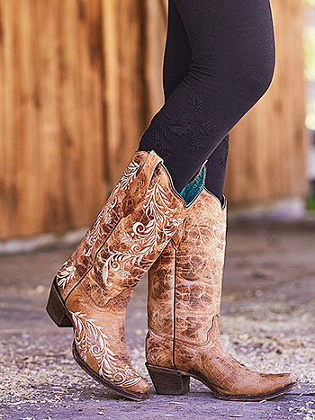 Chantilly Cowgirl Boot