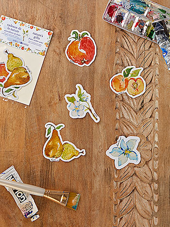 Fruit Basket Sticker Pack