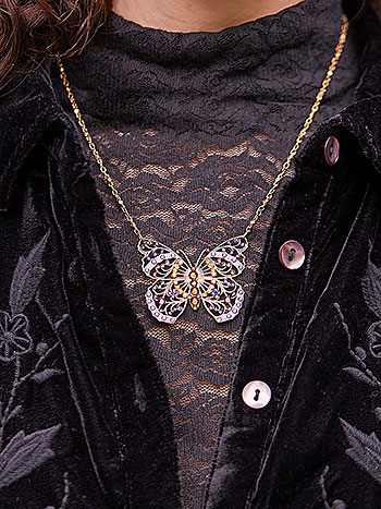 Briallen Butterfly Necklace