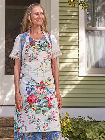 Cottage Rose Apron