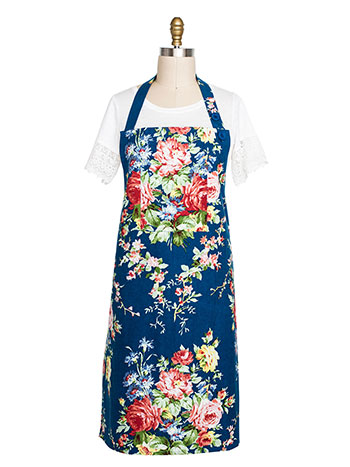 Cottage Rose Chef Apron