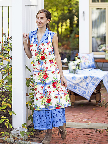 Cornwall Cottage Chef Apron