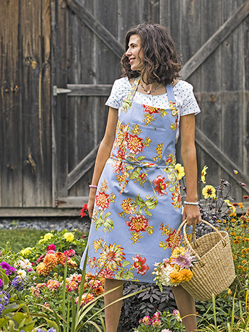 Dahlia Days Chef Apron