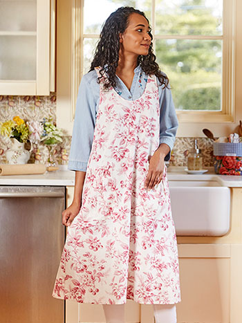 Cherry Blossom Farmhouse Apron