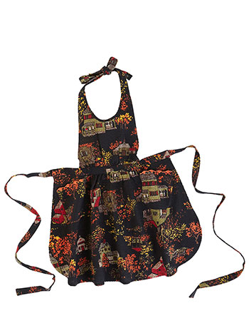 Halloween Village Kids Apron