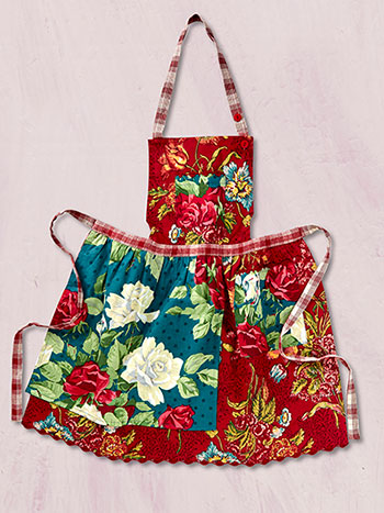 Jewel Patchwork Kids Apron