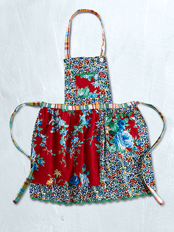 Primary Patchwork Kids Apron