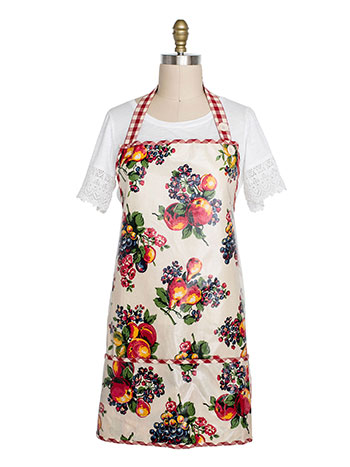 Fruit Basket Oil Adult Short Apron