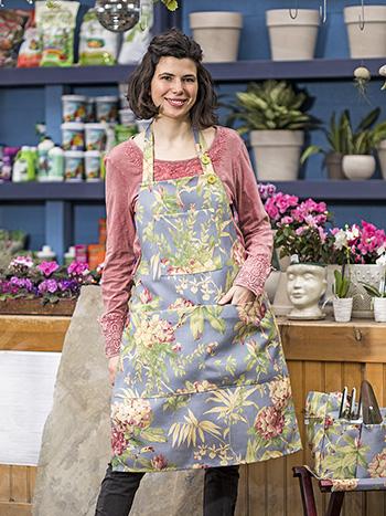 Hydrangea Dream Outdoor Chef Apron