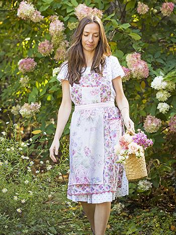 Tea Garden Patchwork Apron