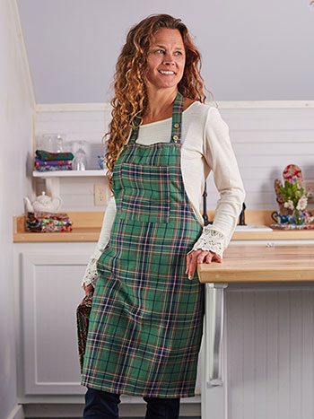 Balsam Plaid Apron