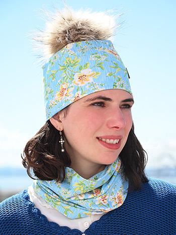 Artist Beanie Real Fur Hat