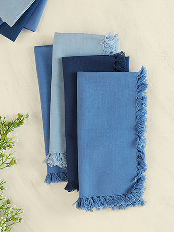 Blues Essential Napkin Bundle of 8