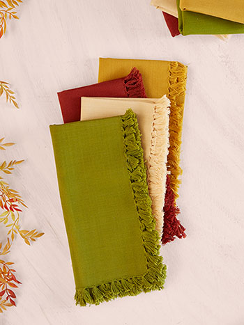 Harvest Essential Napkin Bundle of 8