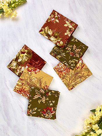 Bountiful Harvest Patchwork Tiny Towel Bundle