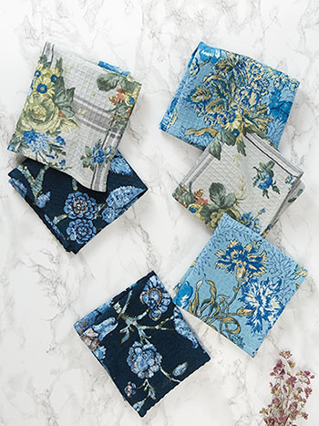 Midnight Patchwork Tiny Towel Bundle