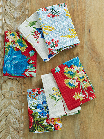 Primary Patchwork Tiny Towel Bundle