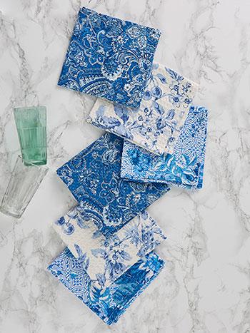 Blue Sky Patchwork Tiny Towel Bundle