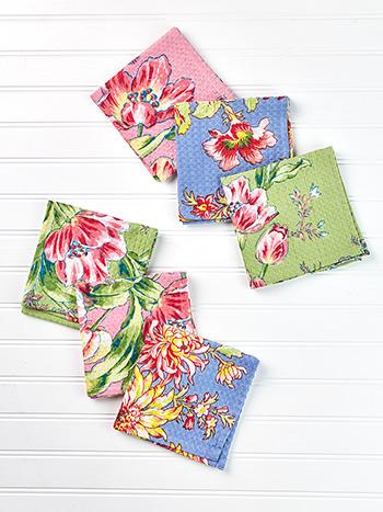 Spring Bouquet Tiny Towel Bundle