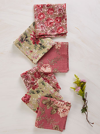 Victorian Garden Tiny Towel Bundle