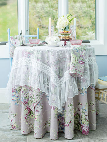 Cottage Rose Lavender Table Bundle