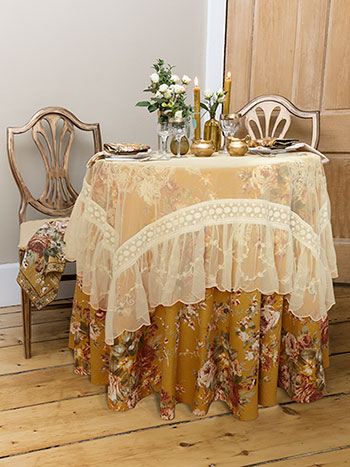 Cottage Rose Romance Table Bundle