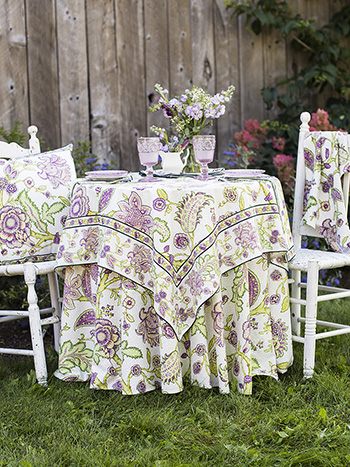 Jacobean Garden Table Setting