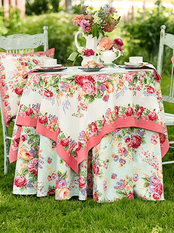 Marion Spring Table Setting