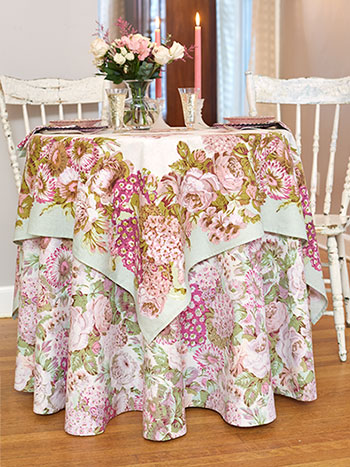 Spring Gathering Vintage Table Setting