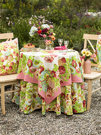 Spring Gathering Table Setting