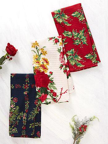 Joyful Patchwork Tea Towel Bundle