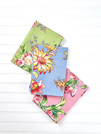 Spring Bouquet Tea Towel Bundle