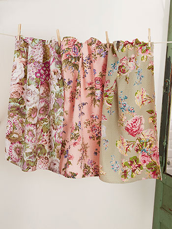 Victorian Patchwork Tea Towel Bundle