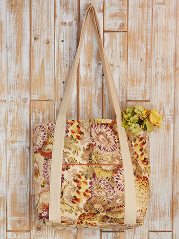 Autumn Gathering Market Bag