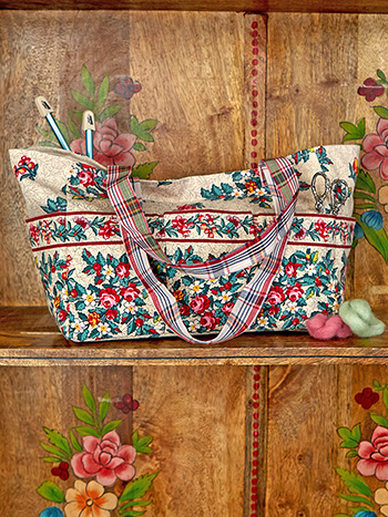 Belle Vue Patchwork Carry it All Tote
