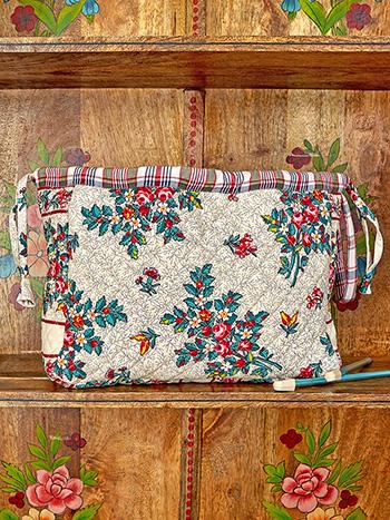 Belle Vue Patchwork Knitters Bag
