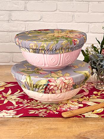 Hydrangea Dream Bowl Cover Set