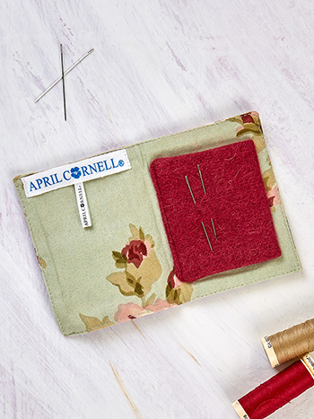 Cottage Core Patchwork Needle Book
