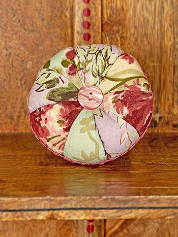 Cottage Core Patchwork Pinwheel Pin Cushion