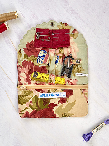 Cottage Core Patchwork Sewing Kit