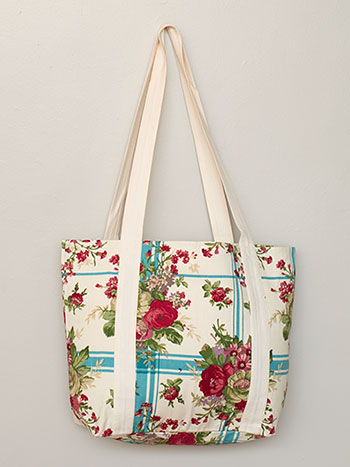 Cornwall Cottage Market Bag