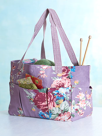 Cottage Rose Carry-It-All Tote